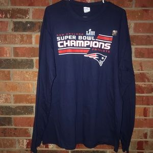 New England Patriots SuperBowl Champs longsleeve